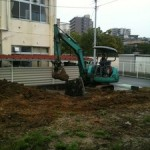 R邸-1 新築工事始まりました